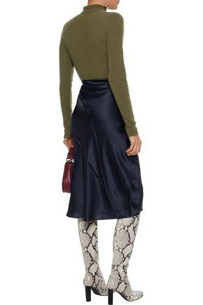 VINCE. Ribbed cashmere turtleneck sweater