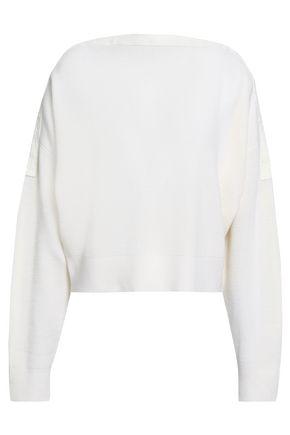 ALEXANDERWANG.T リブ編みニット メリノウール混 セーター