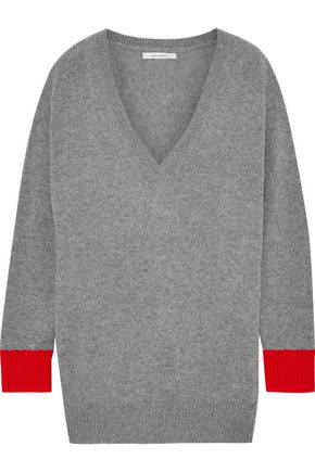 CHINTI AND PARKER Mélange cashmere sweater