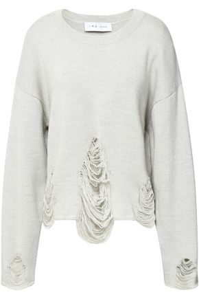 IRO Distressed wool sweater