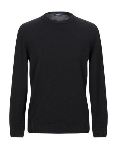 Купить Мужской свитер DRUMOHR черного цвета
