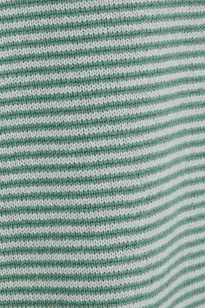 GIORGIO ARMANI Striped cashmere sweater