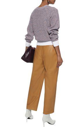 RAG & BONE Wheeler marled cotton sweater