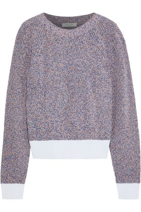RAG & BONE Wheeler marled cotton sweater