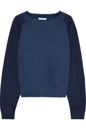 RAG & BONE Wheeler two-tone cotton sweater