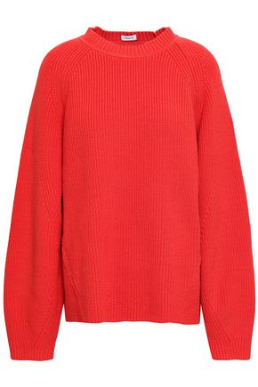 FILIPPA K Cutout ribbed cotton-blend sweater