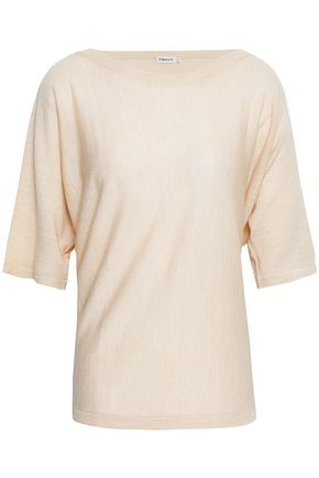 FILIPPA K Wool and linen-blend sweater