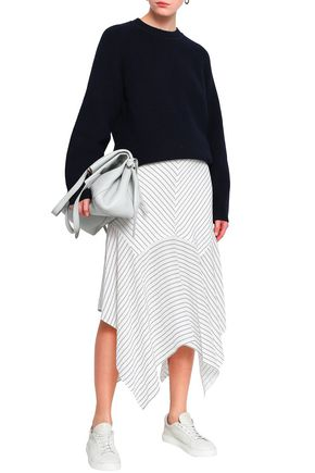 FILIPPA K Cutout ribbed cotton-blend sweater