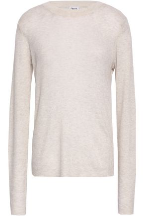 FILIPPA K Mélange ribbed-knit top