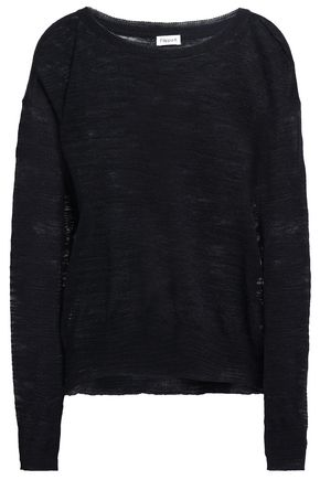 FILIPPA K Slub linen-blend sweater