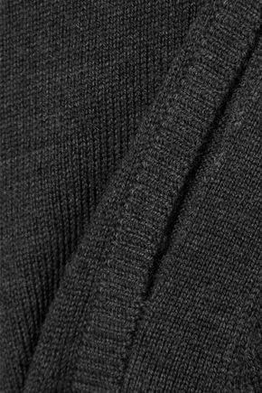 ELIE TAHARI Cutout merino wool turtleneck sweater