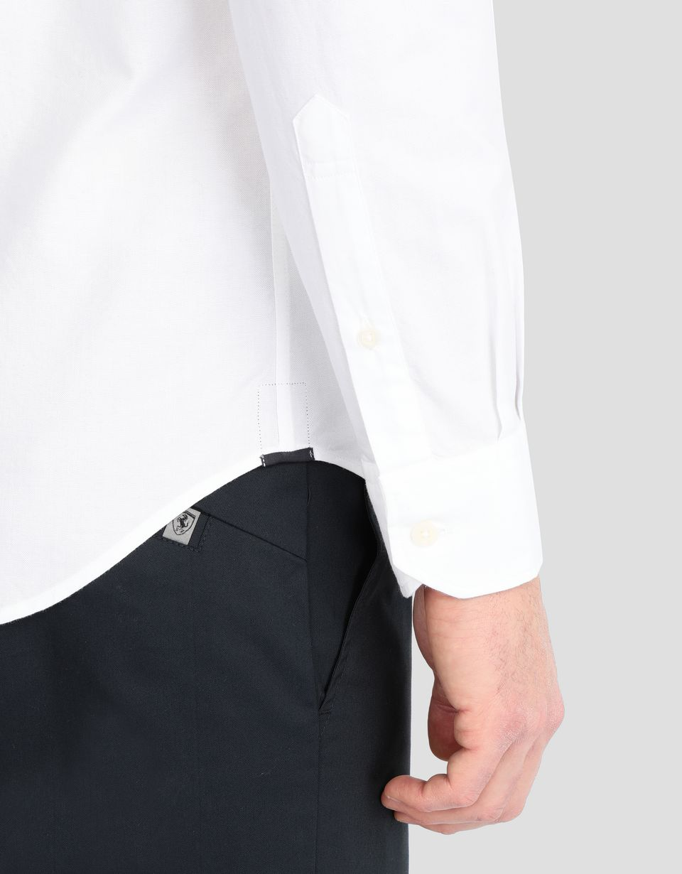 Scuderia Ferrari Online Store - Men's shirt with button-down collar -