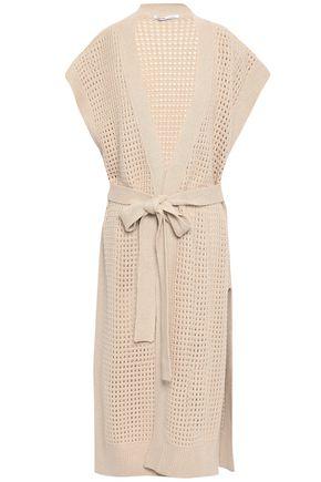 AGNONA Open-knit cashmere cardigan