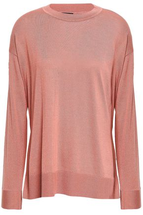 THEORY Karenia silk-blend sweater