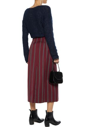 RAG & BONE Freda bouclé-knit mohair-blend sweater