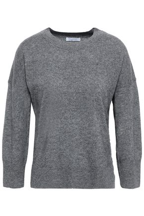 EQUIPMENT Mélange wool and cashmere-blend sweater