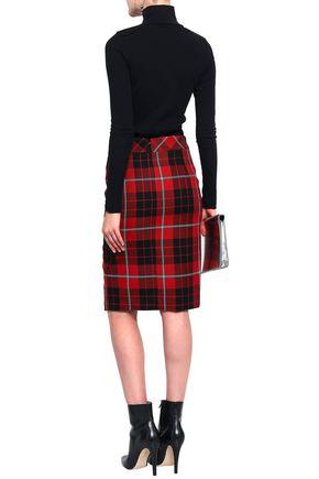 EACH X OTHER Appliquéd cotton-blend jersey turtleneck top