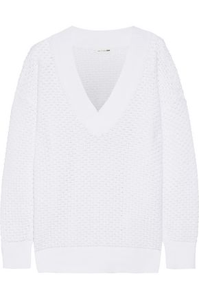 RAG & BONE Kyra open-knit cotton sweater