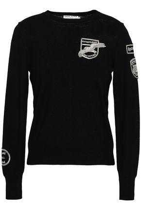 EACH X OTHER Appliquéd wool sweater