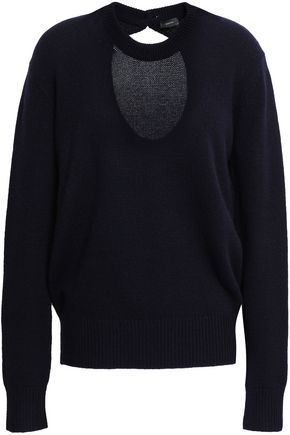 JOSEPH Cutout cashmere sweater