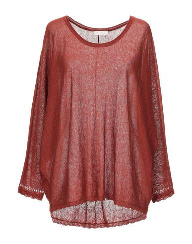 Фото - Женский свитер INTROPIA кирпично-красного цвета