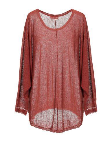 Фото 2 - Женский свитер INTROPIA кирпично-красного цвета