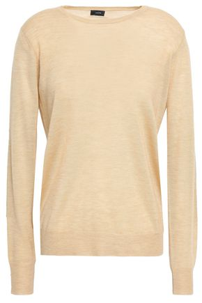 JOSEPH Paneled cashmere sweater