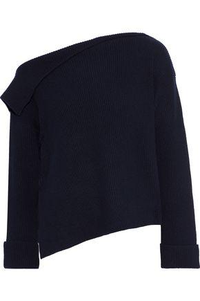 VINCE. One-shoulder cashmere sweater
