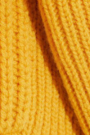 VICTORIA BECKHAM Ribbed wool turtleneck sweater