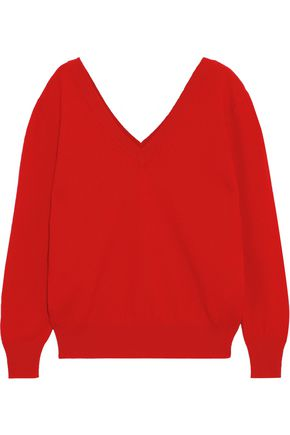 VICTORIA BECKHAM Brushed-wool sweater