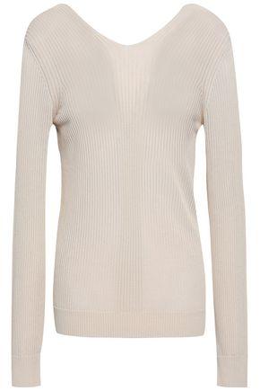 MAISON MARGIELA Ribbed-knit top