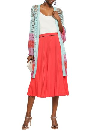 MISSONI Marled open-knit cardigan