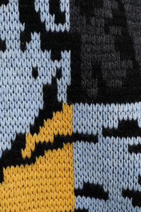 FIORUCCI Intarsia merino wool sweater