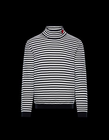 Moncler Knitwear & Sweatshirts Man: HIGH NECK SWEATER