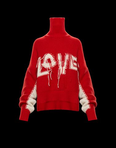 MONCLER HIGH NECK SWEATER - High neck sweaters - women