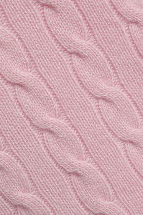 PRINGLE OF SCOTLAND Cable-knit cashmere sweater