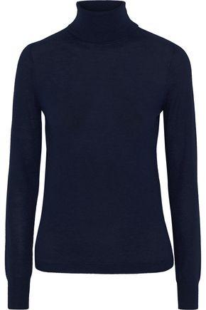 VICTORIA, VICTORIA BECKHAM Wool and cashmere-blend turtleneck sweater
