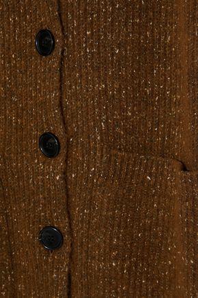BY MALENE BIRGER Utopia oversized marled ribbed-knit cardigan
