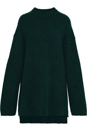 BY MALENE BIRGER Paprika oversized brushed ribbed-knit sweater