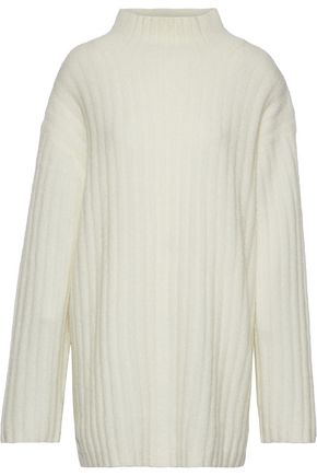 BY MALENE BIRGER Paprika oversized brushed ribbed-knit sweater