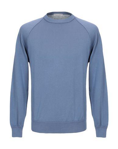 Фото - Мужской свитер FILIPPO DE LAURENTIIS грифельно-синего цвета