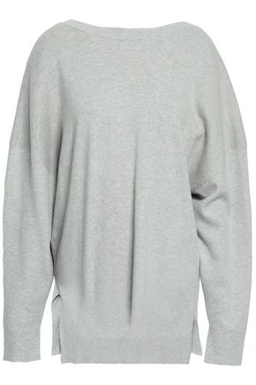 IRO Open-back cotton and cashmere-blend sweater