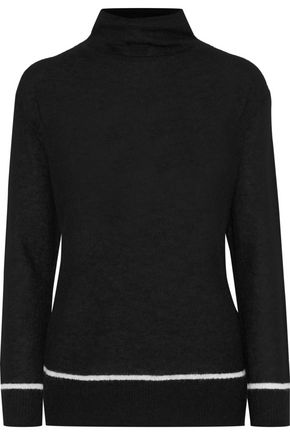 BY MALENE BIRGER Yolanda brushed knitted turtleneck sweater