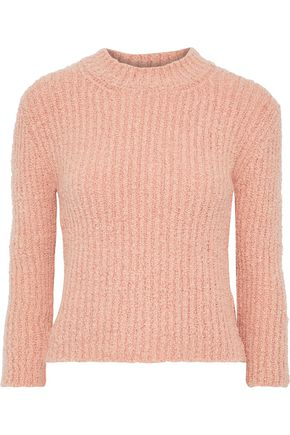 BY MALENE BIRGER Olla ribbed bouclé-knit sweater