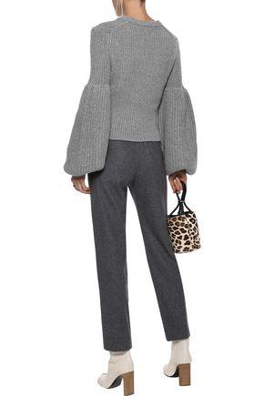 ALEXANDER WANG Ribbed-knit sweater
