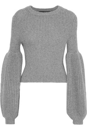 ALEXANDER WANG Ribbed-knit sweater