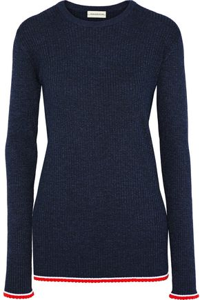 BY MALENE BIRGER Ribbed-knit sweater