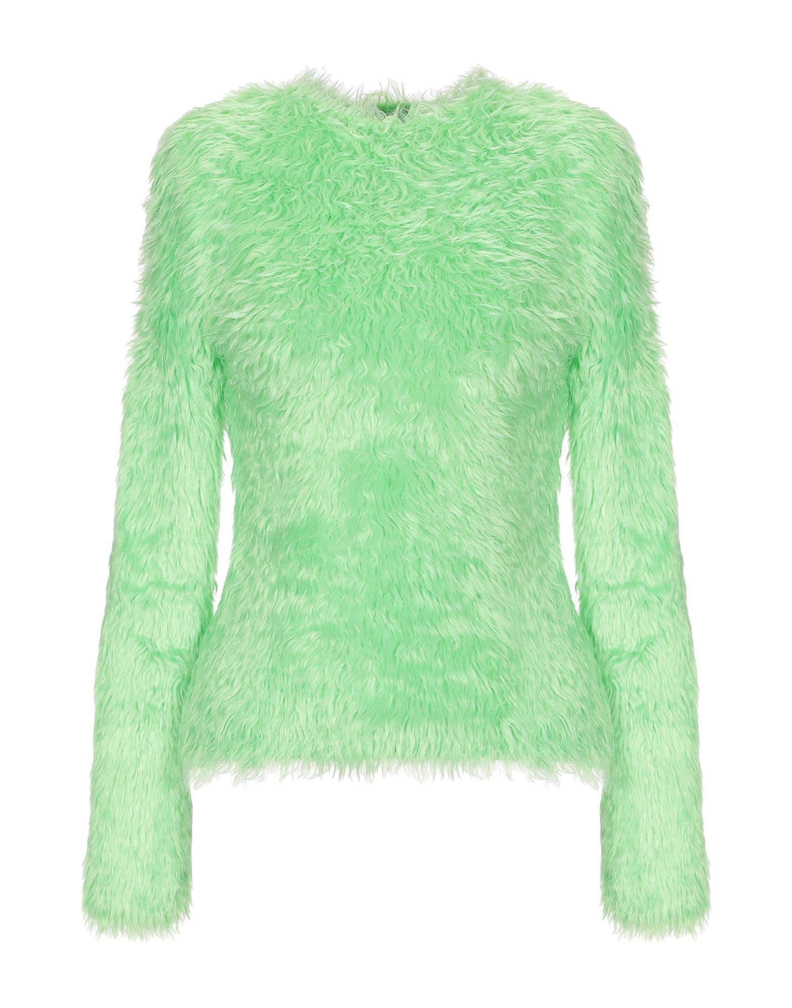 Balenciaga Crewneck Sweater In Neon