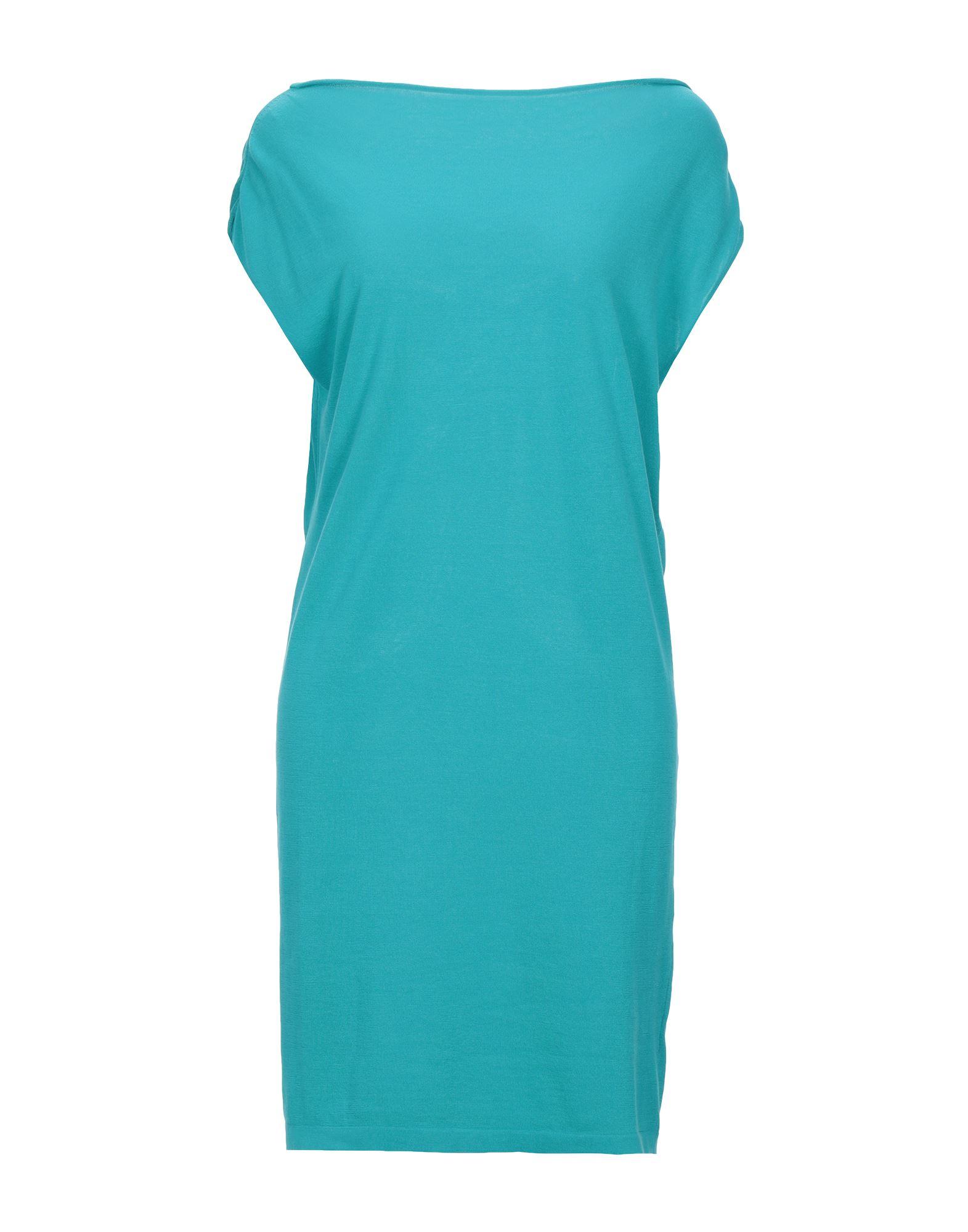 《セール開催中》MALO レディース ミニワンピース&ドレス ターコイズブルー 42 コットン 100%