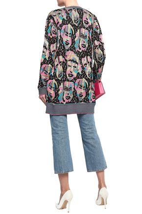MISSONI Cotton-blend jacquard cardigan